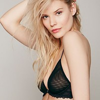 Free People Midnight Hour Triangle Bra