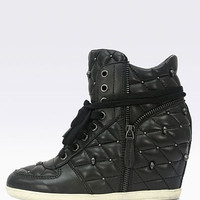 Brooklyn Quilted Wedge Sneaker - Ash® - Victoria's Secret