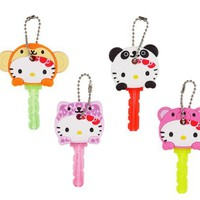 Japanese Sanrio Hello Kitty ANIMAL KEY CAP: a set of 4