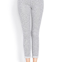 Sporty Chic Heathered Sweatpants