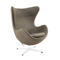 Wool Cell Chair in Oatmeal
