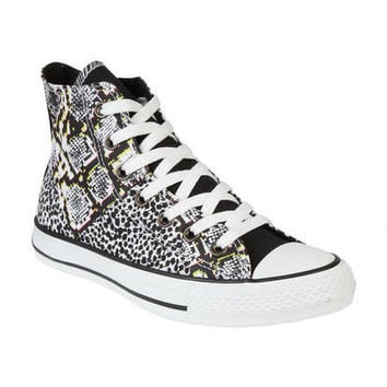 Converse Animal Print Hi-Top - White Multi