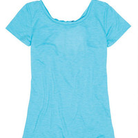 Twist Back Short-Sleeve