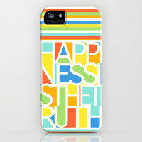 Happiness iPhone & iPod Case by Jacqueline Maldonado