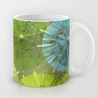 Parasols Blueberry Lime Mug by Lisa Argyropoulos