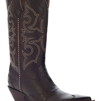 Durango Women's Crush Rock 'n Scroll Western Boot - Chocolate