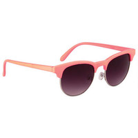Solid Color Round Sunglass