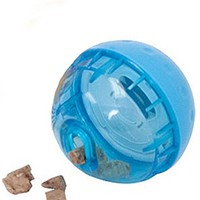 "IQ Enrichment Dog Toy Treat Ball - Small (3"") at barker & meowsky a paw firm since 1998 carries dog clothes, dog accessories, dog carriers, dog collars, dog toys, dog beds and dog treats"