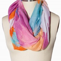 WATERCOLOR ETERNITY SCARF