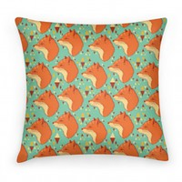 Spirit Fox Pattern (Pillow)
