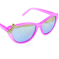 Rhinestone Bow Sunnies | ZOE Boutique