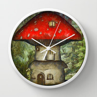 Inhabitants Wall Clock by Texnotropio