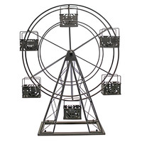 Vita V Home Ferris Wheel Metal Candle holder