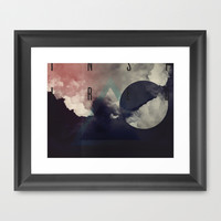 Inspired Framed Art Print by matt market