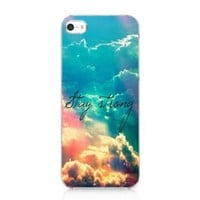 Aokdis New Hot Selling Fashional Individualized Hard Back Case for Iphone 5 5g 5s (Galaxy Nebula)