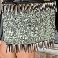 Playful Python Purse: Black/Multi | Hope's