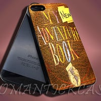 My Adventure Book New - iPhone 4/4s/5c/5s/5 Case - Samsung Galaxy S3/S4 Case - Black or White