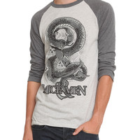 Of Mice & Men Snake Ampersand Raglan
