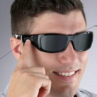 One Touch Video Recording Sunglasses @ Sharper Image