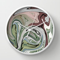 Liquid Mezzo Wall Clock by BeautifulHomes