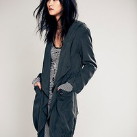 Free People Drippy Long Jacket