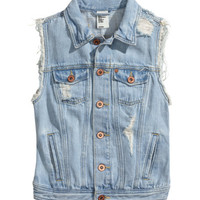 Denim Vest - from H&M