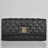 Moschino Super Quilted Wallet - Black