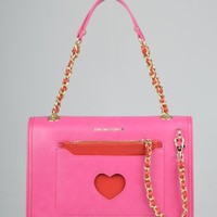 Moschino Medium Fabric Bag - Pink