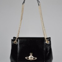 Vivienne Westwood Apollo Chain Bag 13405 - Black