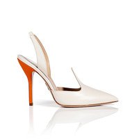 Paul Andrew - Leather Pallida Slingbacks