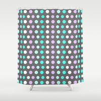 Polka Dots #2 Shower Curtain by Ornaart
