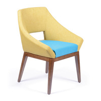 Lemon Embrace Chair