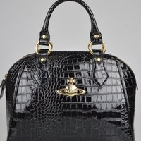 Vivienne Westwood Borsa Chancery Bag 6318 - Black