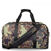 Sprayground Camo Chains Laptop Duffle Bag