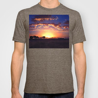 Outback Sunset T-shirt by Limmyth