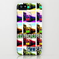 Melbourne & Tram iPhone & iPod Case by Limmyth