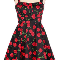 A Cherry Fine Day Swing Dress - PLASTICLAND