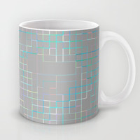 Re-Created SquaresXXX Mug by Robert S. Lee