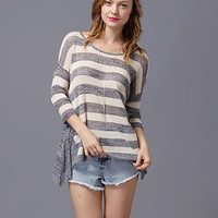 Summer Loving High Low Sweater