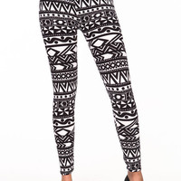 GEOMETRIC BAND LEGGINGS