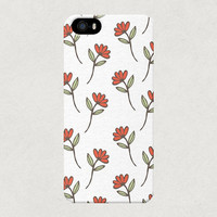 Simple Red Roses iPhone 4 4s 5 5s 5c Case