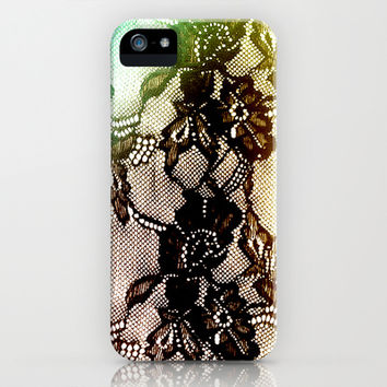 BLACK ROSES iPhone & iPod Case by Ylenia Pizzetti