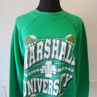 Vintage Marshall University Sweatshirt 1992