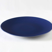 Billy Cotton Indigo Charger Plate : MARCH