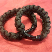 His and Hers/ Friendship Parachute Chord Bracelets 'Military Grade'
