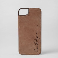 LEATHER IPHONE 5 & 5S CASE