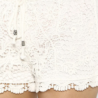 Laid Back Crochet Shorts