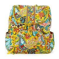 Vera Bradley Double Zip Backpack (Provencal)