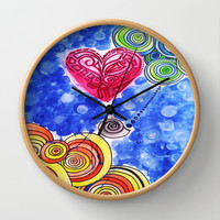 Hope Floats (daydream) Wall Clock by DuckyB (Brandi)
