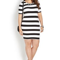 Out At Sea Bodycon Dress